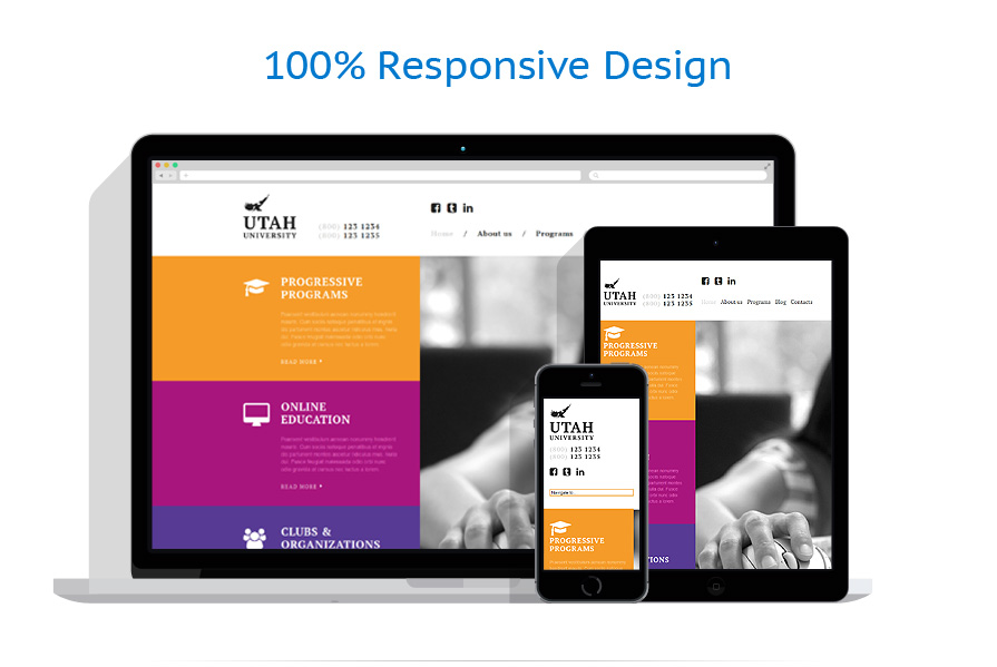 Modèles HTML5 Education #53158