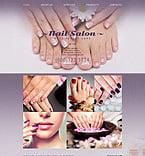 Beauty Website  Template 53159