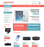 Computers VirtueMart  Template 53163