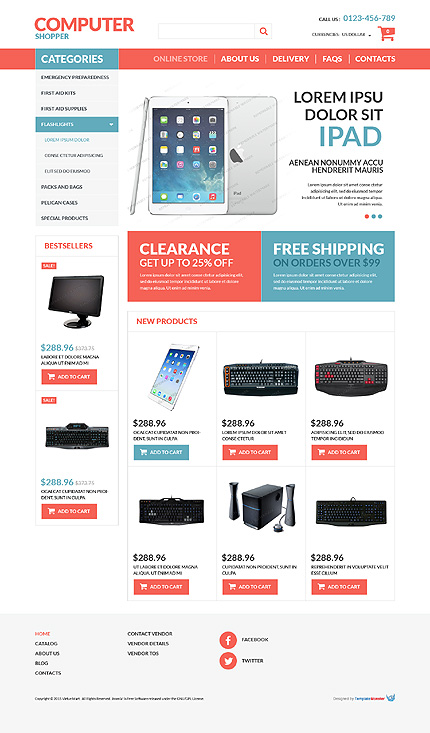 ADOBE Photoshop Template 53163 Home Page Screenshot