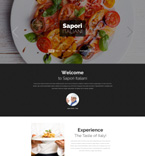 Cafe & Restaurant Drupal  Template 53164