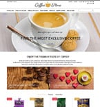 Cafe & Restaurant PrestaShop Template 53165