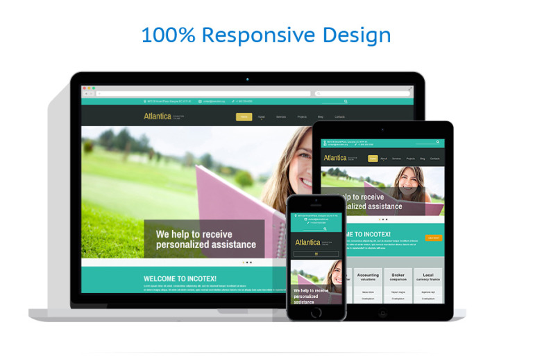 Atlantica Is Super Flexible Modern Design Joomla Template That Can Fit In School Education Or University Website You Are Trying To Build It Responsive