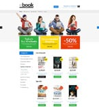 Books Magento Template 53173