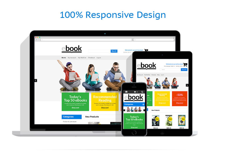 Selling e books magento theme 53173 reading can be amusing interesting and absorbing did we nick your initial website concept its a great approach as positive emotions help to sell fandeluxe Image collections