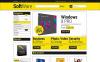 Responsivt Magento-tema för mjukvarubutik New Screenshots BIG