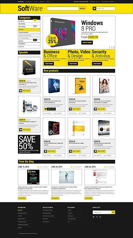Magento Theme/Template 53175 Main Page Screenshot