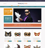 Entertainment Magento Template 53176
