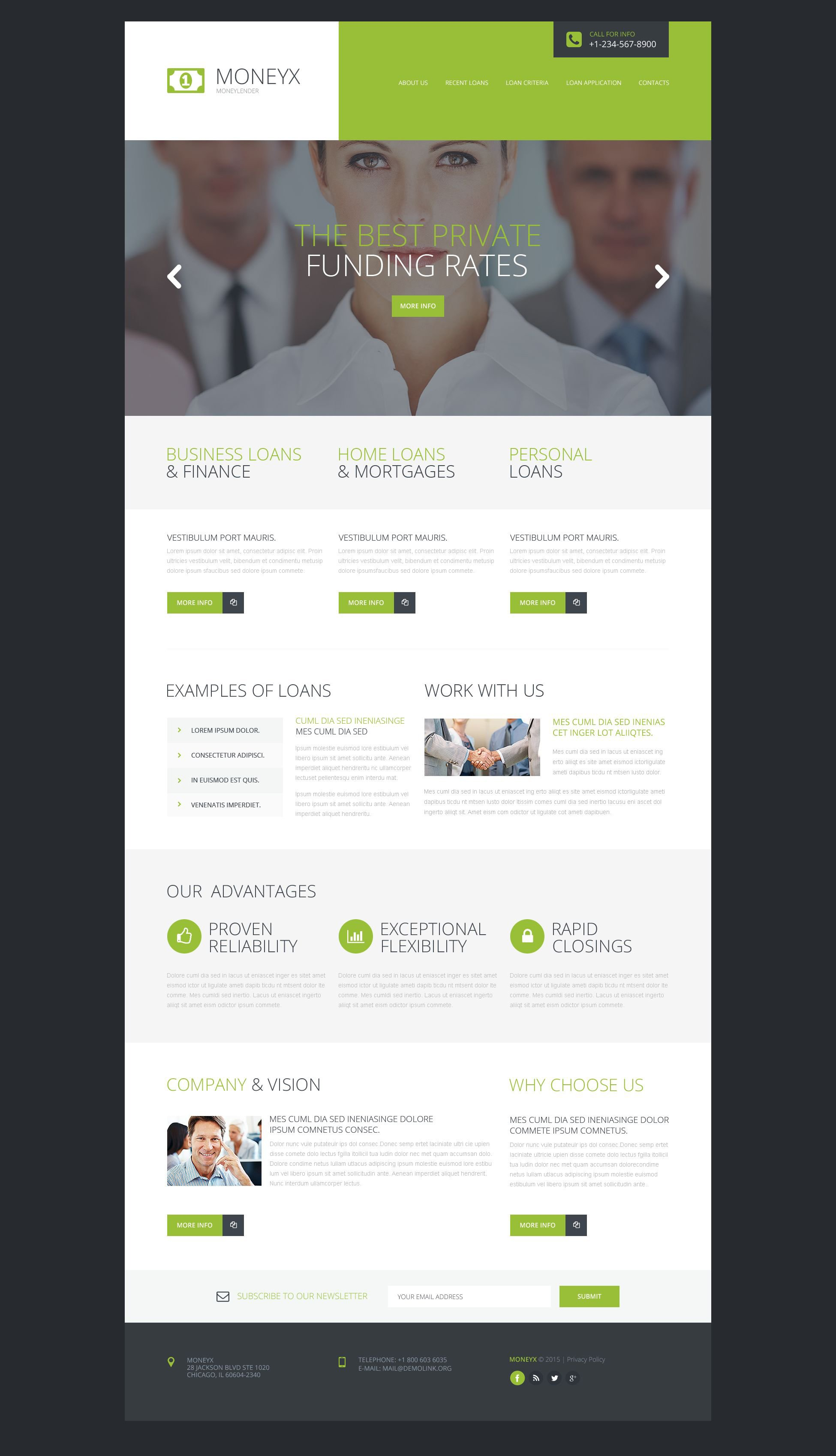 The Moneyx Moneylender Business Bootstrap Design 53177, one of the best website templates of its kind (business, most popular), also known as moneyx Moneylender business website template, success company website template, enterprise solution website template, business website template, industry website template, technical website template, clients website template, customer support website template, automate website template, flow website template, services website template, plug-in website template, flex website template, profile website template, principles website template, web products website template, technology system and related with moneyx Moneylender business, success company, enterprise solution, business, industry, technical, clients, customer support, automate, flow, services, plug-in, flex, profile, principles, web products, technology system, etc.