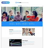 Software Landing Page  Template 53178