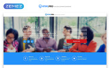 Responsivt HTML PRO - IT Company Clean HTML Landing Page-mall