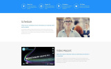 "Landing Page Template namens ""HTML PRO - IT Company Clean HTML"""
