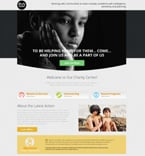 Charity Landing Page  Template 53181