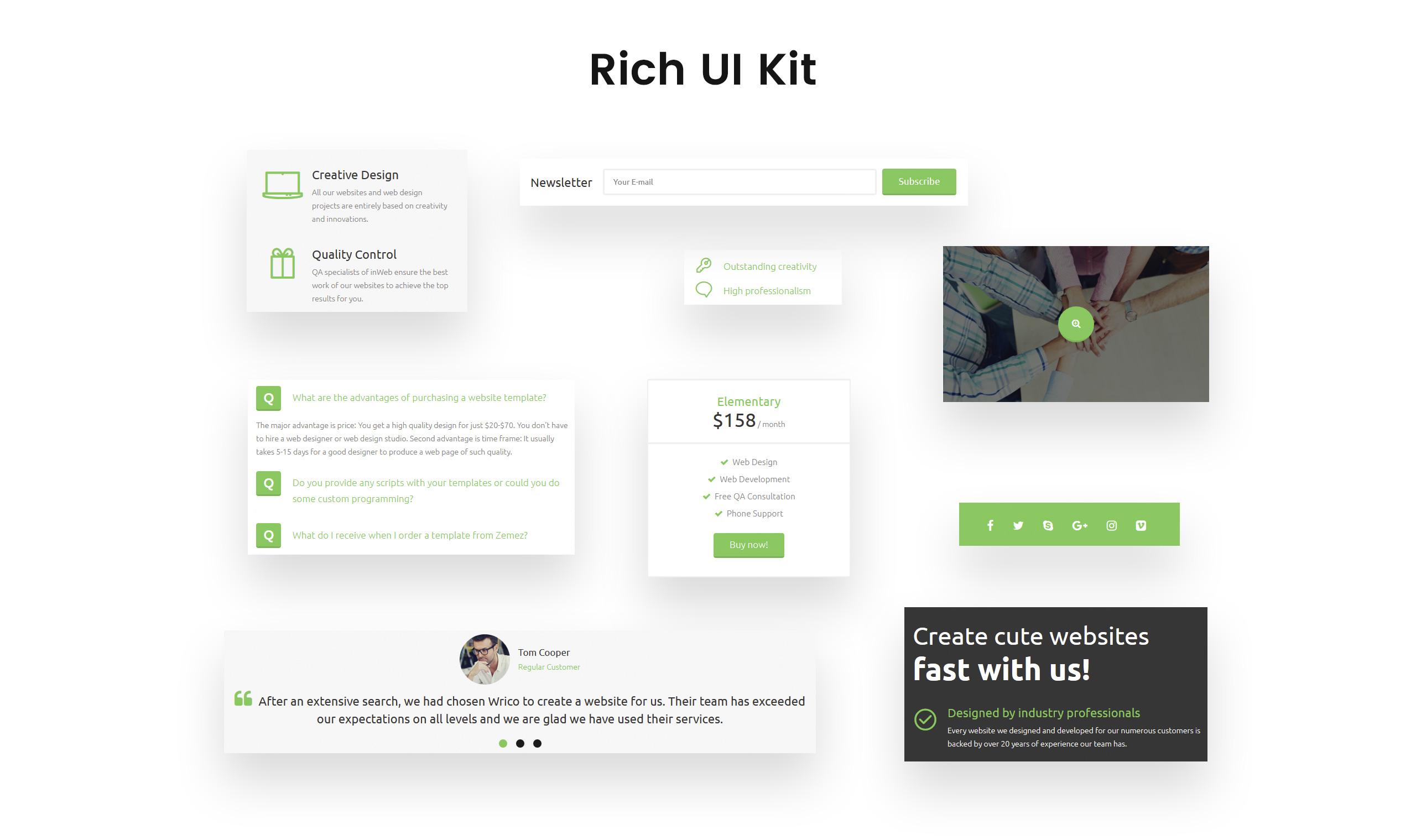 Wrico - Web Development HTML
