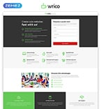 Web design Landing Page  Template 53182