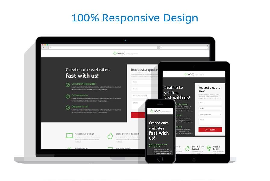 Modèles de Page d'Accueil Web design #53182