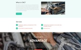 NG - Alternative Power Minimal HTML Bootstrap Templates de Landing Page  №53183