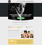 Charity Unbounce  Template 53187