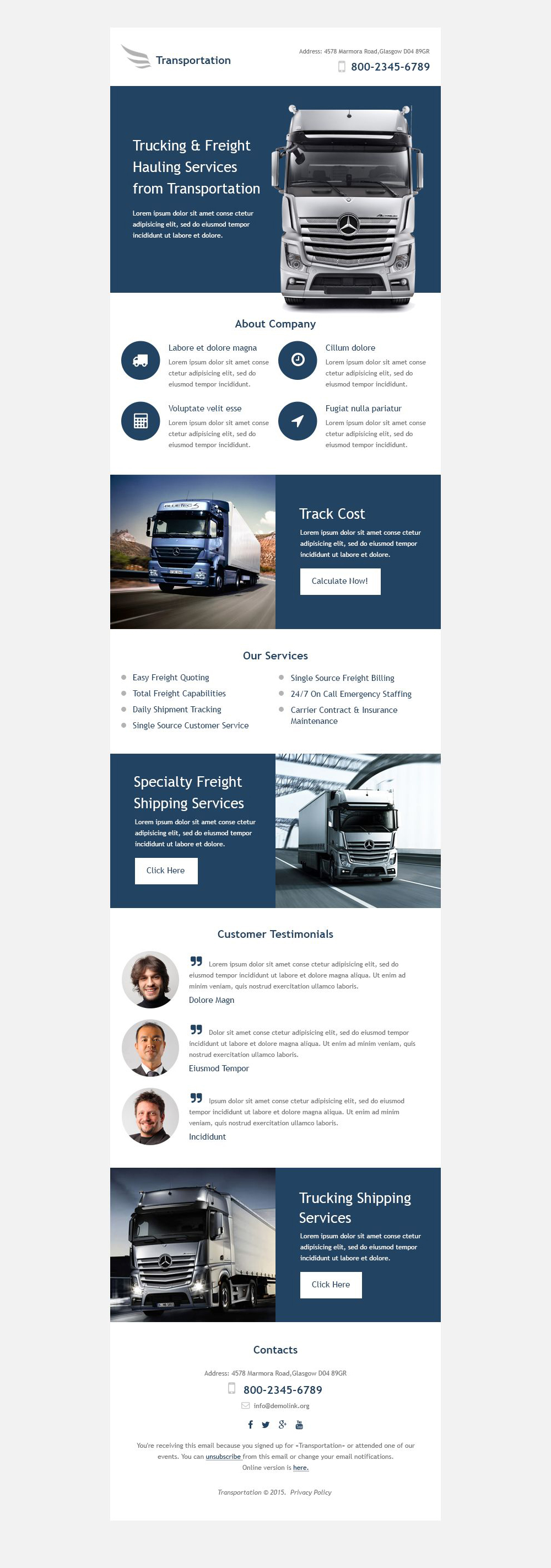 The Transportation Company Newsletter Template Design 53193, one of the best Newsletter templates of its kind (transportation, most popular), also known as transportation company Newsletter template, transport Newsletter template, fast Newsletter template, reliability Newsletter template, safety Newsletter template, express Newsletter template, exportation Newsletter template, trucking Newsletter template, work Newsletter template, team Newsletter template, profile Newsletter template, support Newsletter template, customer Newsletter template, clients solutions Newsletter template, cars Newsletter template, cargo Newsletter template, services Newsletter template, shipment Newsletter template, rates Newsletter template, prices Newsletter template, offer Newsletter template, standards Newsletter template, vehicle Newsletter template, destination Newsletter template, trucking Newsletter template, sea Newsletter template, air Newsletter template, help and related with transportation company, transport, fast, reliability, safety, express, exportation, trucking, work, team, profile, support, customer, clients solutions, cars, cargo, services, shipment, rates, prices, offer, standards, vehicle, destination, trucking, sea, air, help, etc.