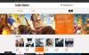 Адаптивний OpenCart шаблон на тему відеостудія New Screenshots BIG