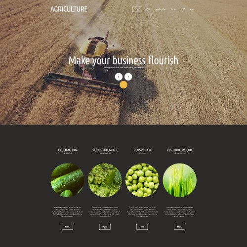 Agricultural  - Joomla! Template based on Bootstrap
