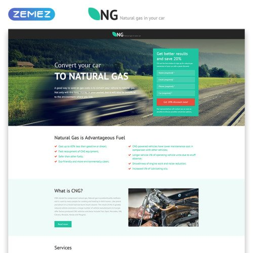 Ng - Responsive Landing Page Template