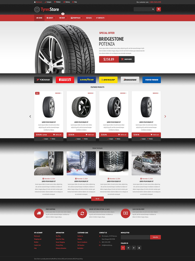 Auto Parts Store WooCommerce Theme New Screenshots BIG