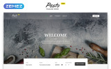Cafe & Restaurant Free Website Templates Website Template