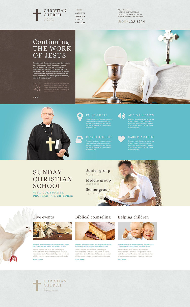 Christian Muse Template New Screenshots BIG