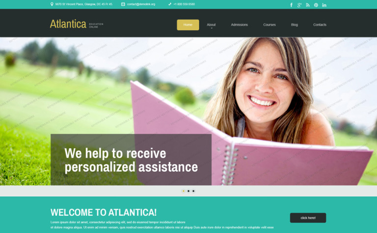 Free education joomla template joomla template 53168 free education joomla template joomla template new screenshots big maxwellsz