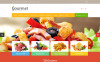 """Magasin d'alimentation"" thème OpenCart adaptatif New Screenshots BIG"