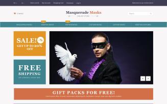 Masquerade Masks Magento Theme