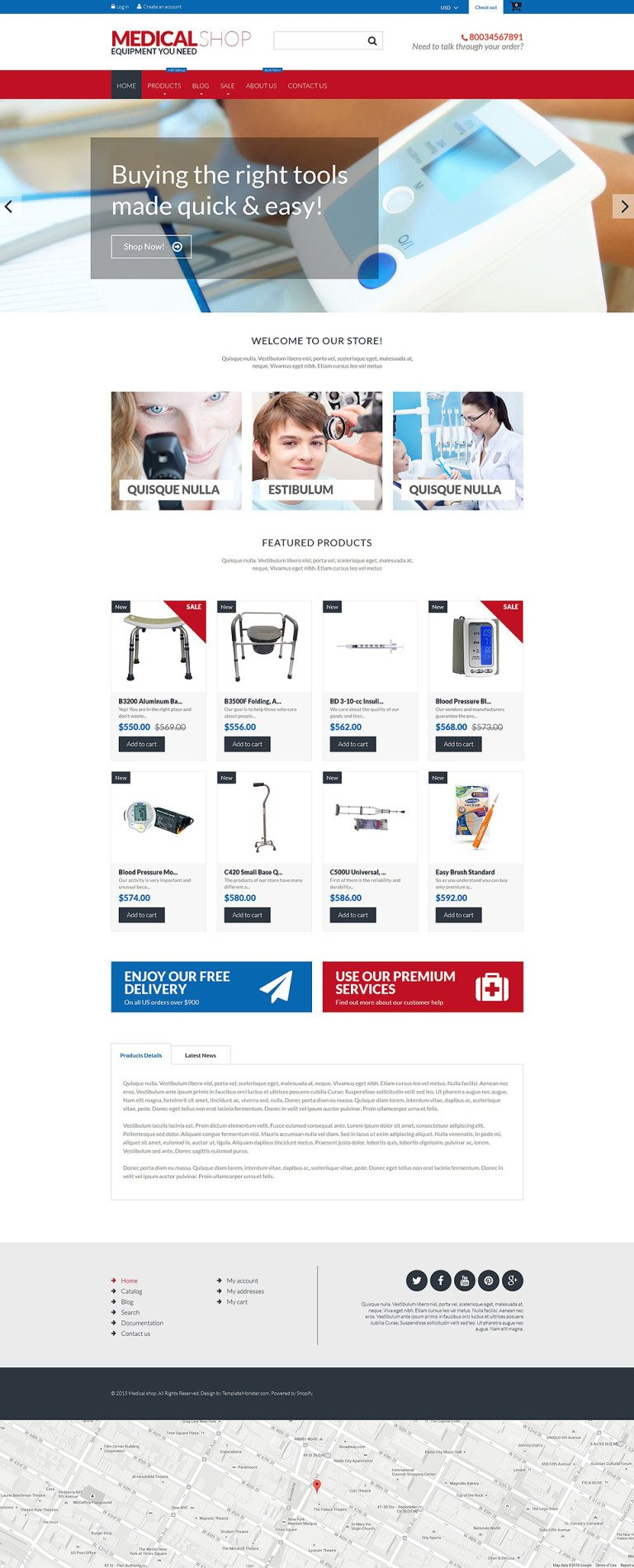 Medical Equipment Shopify Theme New Screenshots BIG