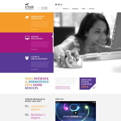 Modèle Web adaptatif  pour site d'université
