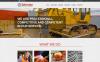 Muse Template over Industriële New Screenshots BIG