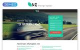 """""""NG - Alternative Power Minimal HTML Bootstrap"""" modèle  de page d'atterrissage adaptatif"""
