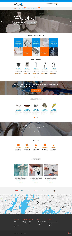 Plumbing Solutions Magento Theme
