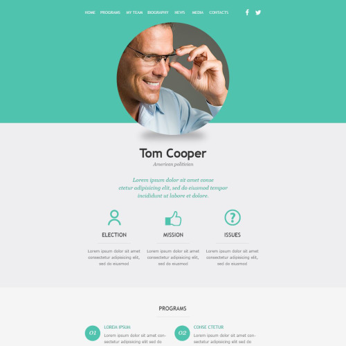 Tom Cooper - Responsive Newsletter Template