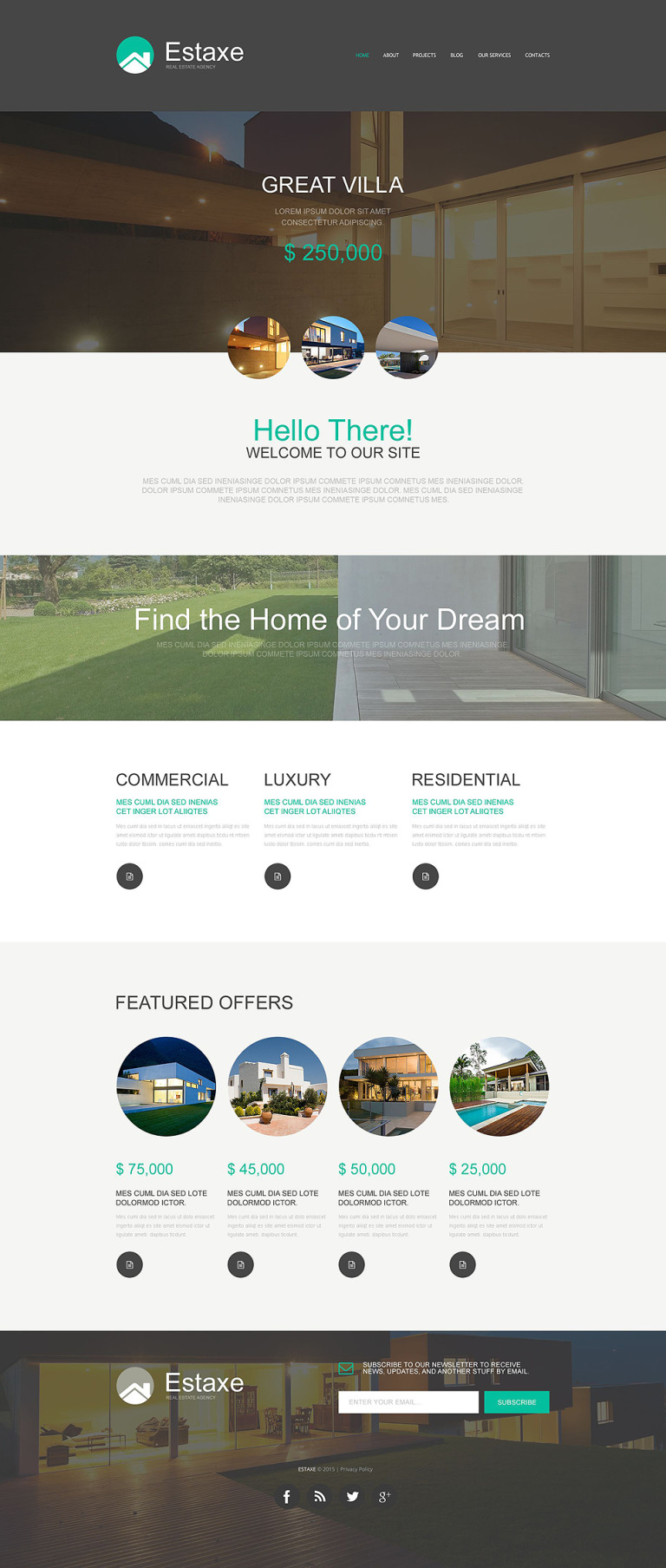 Real Estate Agency Muse Template New Screenshots BIG