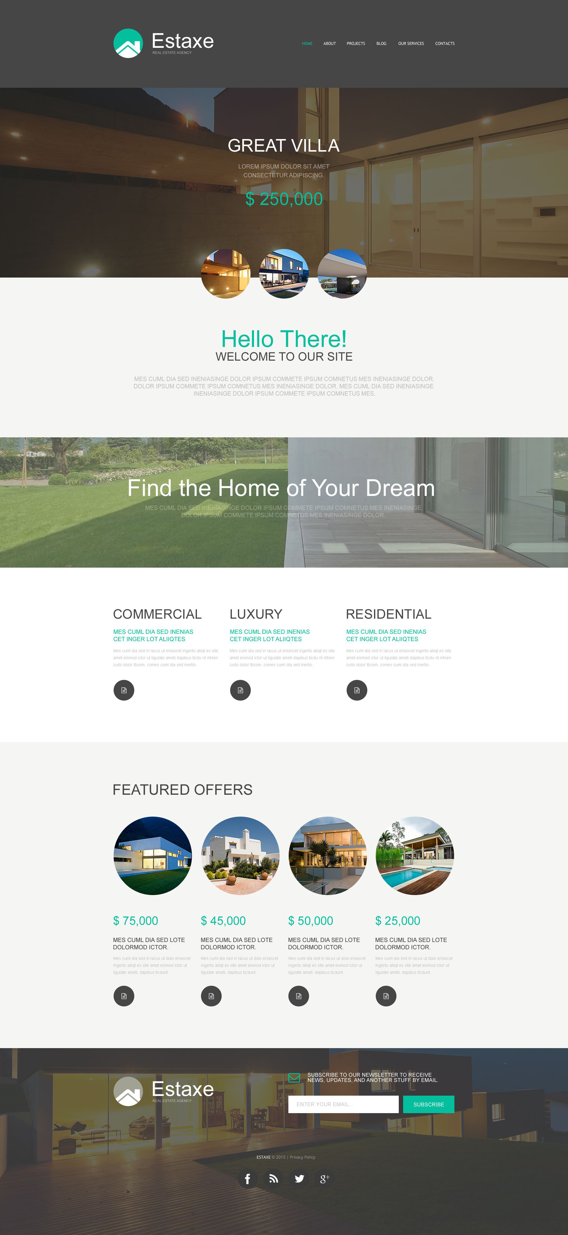 Real Estate Agency Muse Template