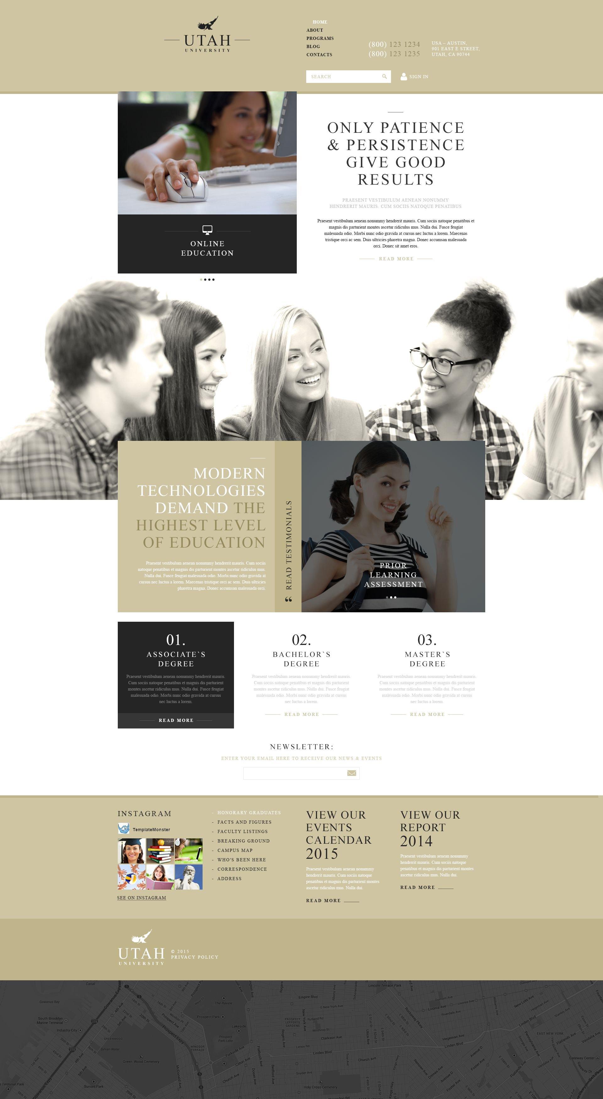 Responsive Education Organization Joomla #53148