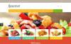 Responsive Food Shop Opencart Şablon New Screenshots BIG