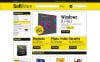 Responsive Yazılım Mağazası  Magento Teması New Screenshots BIG