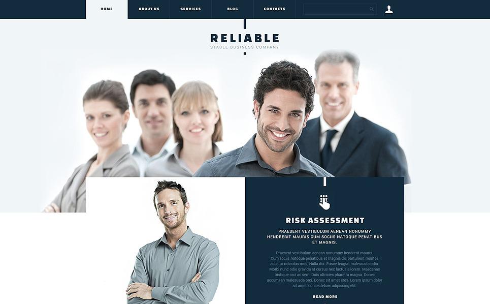 Responsywny szablon Joomla #53127 na temat: biznes i usługi New Screenshots BIG