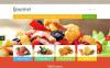 Reszponzív Élelmiszer üzletek OpenCart sablon New Screenshots BIG