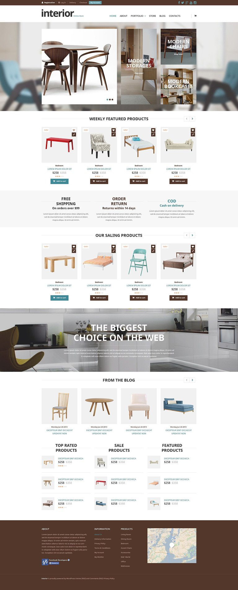Special Furniture Store WooCommerce Theme New Screenshots BIG