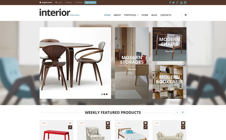 21+ Home Decor WooCommerce Themes & Templates