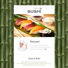 asian restaurant newsletter templates templatemonster