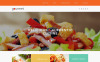 "Tema De WordPress ""Cafetería y Restaurante"" New Screenshots BIG"