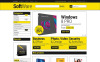 "Tema Magento Responsive #53175 ""Software Store"" New Screenshots BIG"